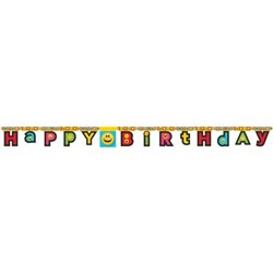 Emojiler Partisi, Happy Birthday Banner