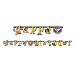 Korsan Partisi, Happy Birthday Banner