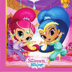 Shimmer and Shine Partisi, Peçete
